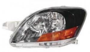 2008-2011 Toyota Yaris Headlight Assembly (S Model / Sedan) - Left (Driver)