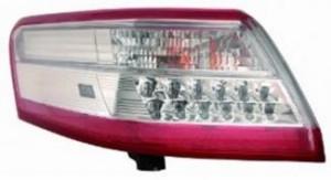 2010-2011 Toyota Camry Hybrid Tail Light Rear Lamp (For USA Built Models) - Left (Driver)