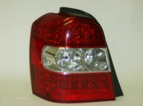 2006-2007 Toyota Highlander Hybrid Tail Light Rear Lamp - Left (Driver)