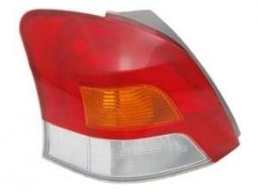 2009-2011 Toyota Yaris Tail Light Rear Lamp - Left (Driver)