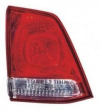 2008-2011 Toyota Landcruiser Tail Light Rear Lamp (Lens/Housing / BUL Unit on Lifegate) - Left (Driver)