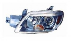 2005-2006 Mitsubishi Outlander Headlight Assembly (Limited) - Left (Driver)
