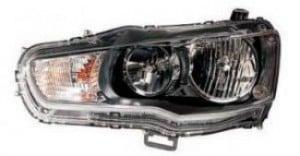 2009-2015 Mitsubishi Lancer Evolution Headlight Assembly - Left (Driver)