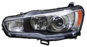 2008-2013 Mitsubishi Lancer Headlight Assembly - Left (Driver)