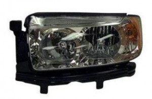 2006-2008 Subaru Forester Headlight Assembly - Left (Driver)