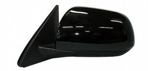 2001-2007 Toyota Highlander Side View Mirror (Heated / Power Remote / Black (Code 202) - Left (Driver)