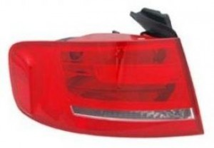 2009-2011 Audi A4 Tail Light Rear Lamp (For Premium Sedan) - Left (Driver)