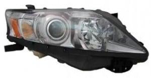 2010-2011 Lexus RX350 Headlight Assembly (Halogen / For Canada Built Models) - Right (Passenger)