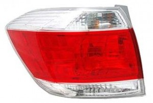 2011-2011 Toyota Highlander Tail Light Rear Lamp - Right (Passenger)