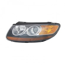 2007-2008 Hyundai Santa Fe Headlight Assembly - Left (Driver)
