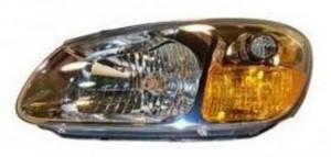 2007 Kia Spectra5 Headlight Assembly - Left (Driver)