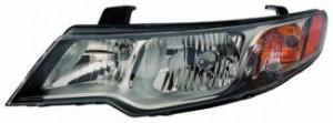 2009-2012 Kia Forte Headlight Assembly - Left (Driver)