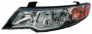 2009-2009 Kia Forte Headlight Assembly - Left (Driver)