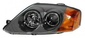 2003-2005 Hyundai Tiburon Headlight Assembly - Left (Driver)