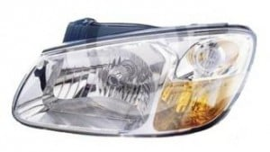 2007-2009 Kia Spectra Headlight Assembly - Left (Driver)