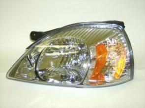 2003-2005 Kia Rio Headlight Assembly - Left (Driver)
