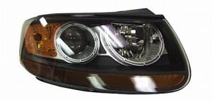 2007-2008 Hyundai Santa Fe Headlight Assembly - Right (Passenger)