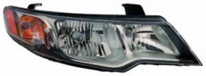 2009-2009 Kia Forte Headlight Assembly - Right (Passenger)