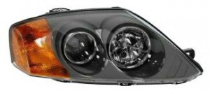 2003-2004 Hyundai Tiburon Headlight Assembly - Right (Passenger)