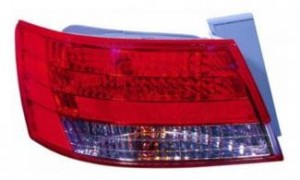 2008 Hyundai Sonata Tail Light Rear Lamp - Left (Driver)