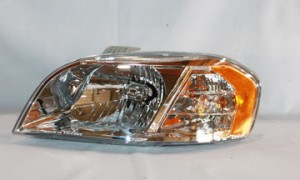 2007-2009 Chevrolet (Chevy) Aveo Headlight Assembly - Left (Driver)
