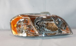 2007-2009 Chevrolet (Chevy) Aveo Headlight Assembly - Right (Passenger)