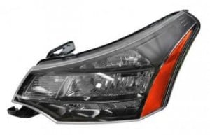 2010-2011 Ford Focus Headlight Assembly - Left (Driver)