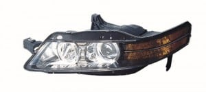 Acura TL Front Headlight Left Driver Side Model - Acura tl headlight replacement