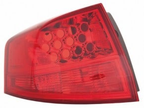 2007 -  2009 Acura MDX Tail Light Housing - Left (Driver) Side