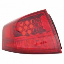 2010 -  2013 Acura MDX Tail Light Housing - Left (Driver) Side