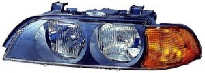 1997 - 1998 BMW 528i Front Headlight Assembly Replacement Housing / Lens / Cover - Left (Driver) Side