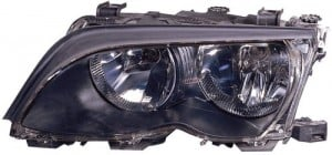 2002 -  2005 BMW 325i Front Headlight Assembly Replacement Housing / Lens / Cover - Left (Driver) Side - (4 Door; Sedan + 4 Door; Wagon)