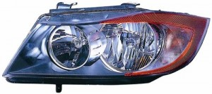 2006 BMW 325i Front Headlight Assembly Replacement Housing / Lens / Cover - Left (Driver) Side - (E90 Body Code; Sedan)
