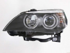 2008 - 2010 BMW 528i Front Headlight Assembly Replacement Housing / Lens / Cover - Left (Driver) Side