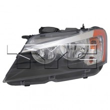 2011 - 2014 BMW X3 Front Headlight - Left (Driver) Side