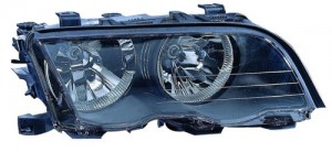 2001 BMW 325i Front Headlight Assembly Replacement Housing / Lens / Cover - Right (Passenger) Side - (4 Door; Sedan)