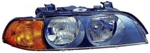 1997 - 1998 BMW 528i Front Headlight Assembly Replacement Housing / Lens / Cover - Right (Passenger) Side