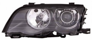 2001 BMW 325i Front Headlight Assembly Replacement Housing / Lens / Cover - Right (Passenger) Side - (E46 Body Code; 4 Door; Wagon)