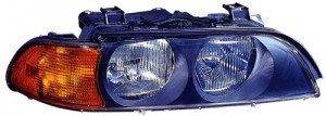 1998 - 2000 BMW 528i Front Headlight Assembly Replacement Housing / Lens / Cover - Right (Passenger) Side
