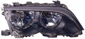 2002 -  2005 BMW 325i Front Headlight Assembly Replacement Housing / Lens / Cover - Right (Passenger) Side - (4 Door; Sedan + 4 Door; Wagon)