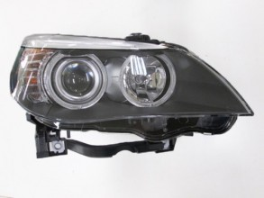 2008 - 2010 BMW 528i Front Headlight Assembly Replacement Housing / Lens / Cover - Right (Passenger) Side