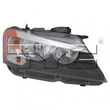 2011 BMW X3 Front Headlight - Right (Passenger) Side - (F25