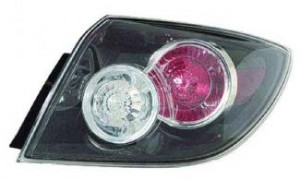 2007-2009 Mazda 3 Mazda3 Tail Light Rear Lamp - Right (Passenger)