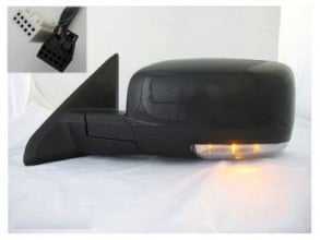 2009 Dodge Ram 1500 Side View Mirror Left Driver