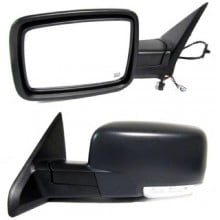 2010 Dodge Ram 1500 Side View Mirror Left Driver Right