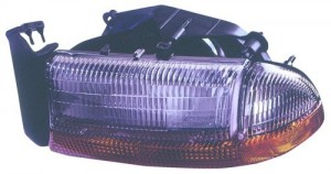 1997 Dodge Dakota Front Headlight Assembly Replacement Housing / Lens / Cover - Left (Driver) Side