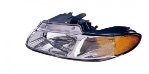 2000 Chrysler Town & Country Headlight Assembly - Left (Driver) Side