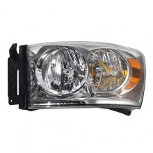 2007 -  2009 Dodge Ram 3500 Headlight Assembly (CAPA Certified) - Left (Driver) Side