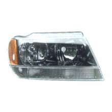 1999 -  2004 Jeep Grand Cherokee Headlight Assembly - Right (Passenger) Side - (Limited + Overland)