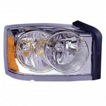 2006 2007 Dodge Dakota Front Headlight Embly Replacement Housing Lens Cover Right Penger Side